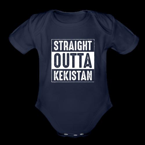 Straight Outta Kekistan - Organic Short Sleeve Baby Bodysuit