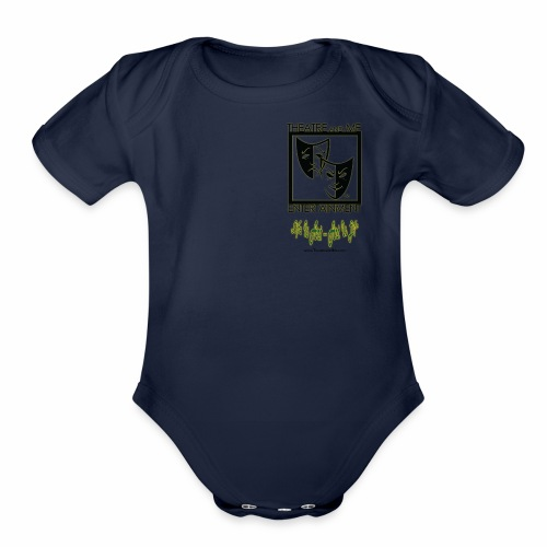 Theatre and Me professional shirt - Organic Short Sleeve Baby Bodysuit