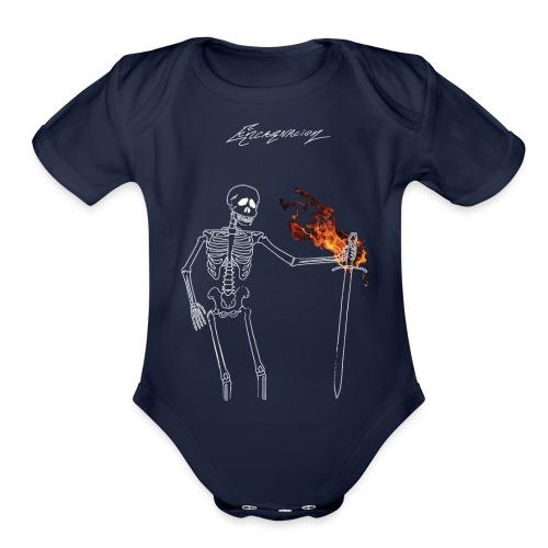 Dissent - Organic Short Sleeve Baby Bodysuit