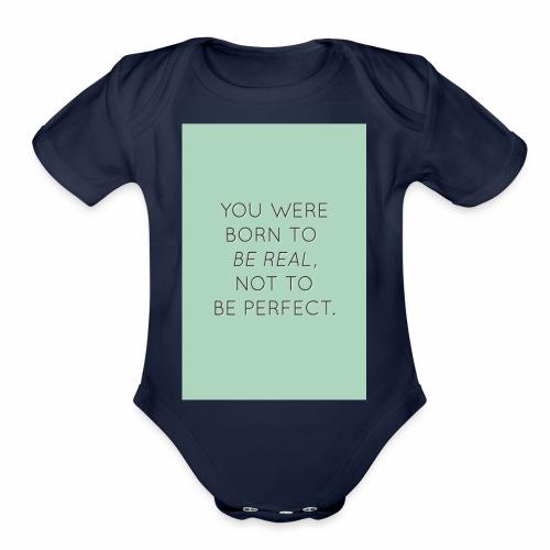 f8a81d2c45e6558cb1a0e2107b79b64f true beauty quot - Organic Short Sleeve Baby Bodysuit