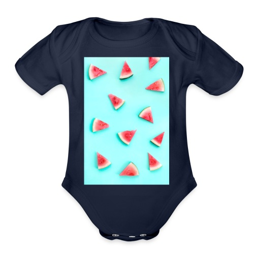 44cf5e38127bd708b4bf07441f48330c cell phone wallp - Organic Short Sleeve Baby Bodysuit