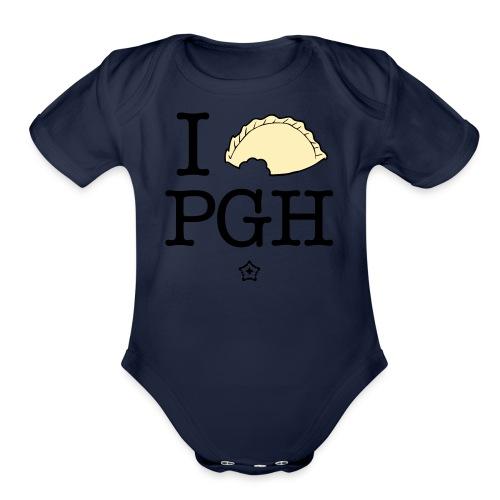 I pierog PGH - Organic Short Sleeve Baby Bodysuit