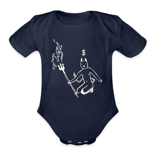 Devil - Organic Short Sleeve Baby Bodysuit