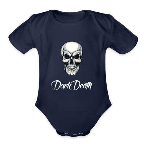 DarkDeath - Organic Short Sleeve Baby Bodysuit