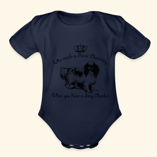 Who Needs Prince Charming? - Organic Short Sleeve Baby Bodysuit