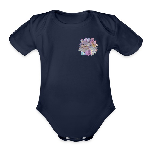 CrystalMerch - Organic Short Sleeve Baby Bodysuit
