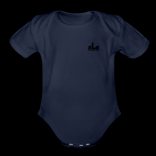 AirLines Entertainment - Organic Short Sleeve Baby Bodysuit
