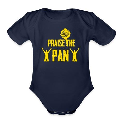 Praise the pan - Organic Short Sleeve Baby Bodysuit