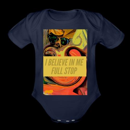 BELIEVE IN ME - Organic Short Sleeve Baby Bodysuit