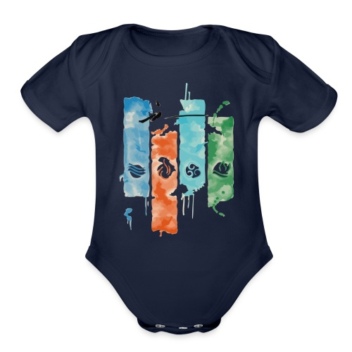 Elements of Life - Organic Short Sleeve Baby Bodysuit