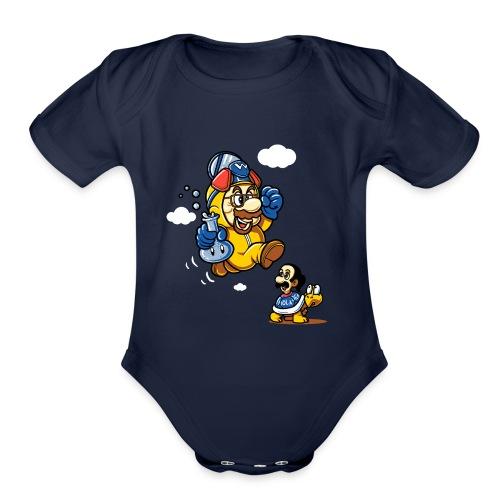 Walter Mario - Organic Short Sleeve Baby Bodysuit