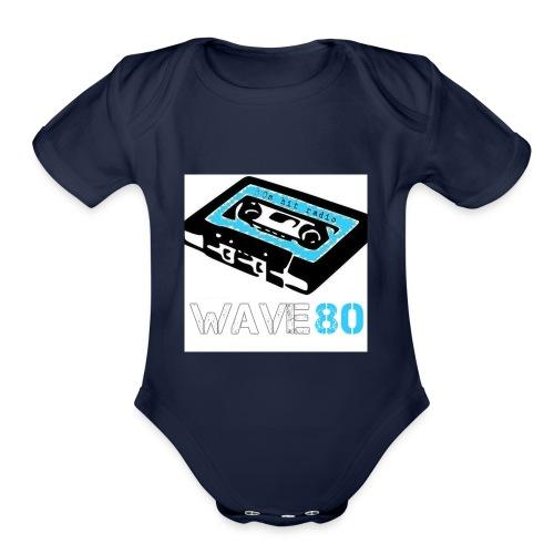 Alt Logo - Organic Short Sleeve Baby Bodysuit