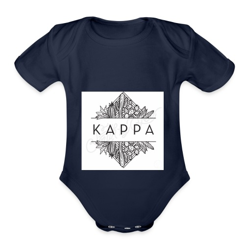 KappA - Organic Short Sleeve Baby Bodysuit