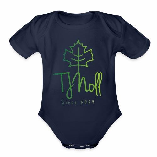 TJNoll - Organic Short Sleeve Baby Bodysuit