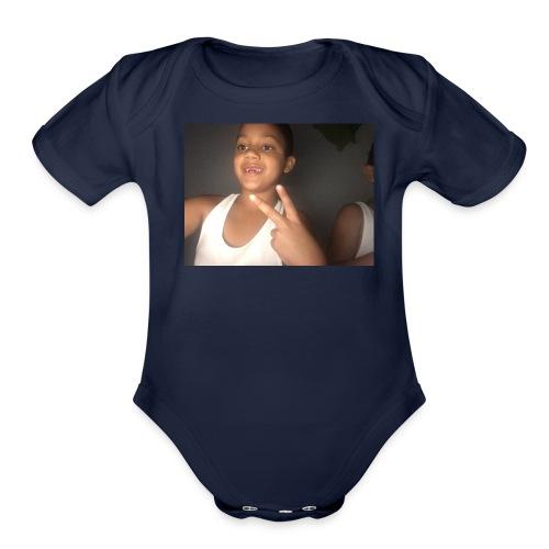 Adonis Rivera - Organic Short Sleeve Baby Bodysuit