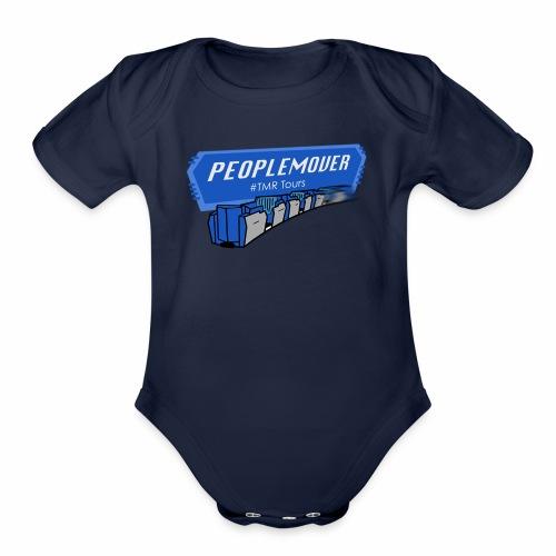 Peoplemover TMR - Organic Short Sleeve Baby Bodysuit