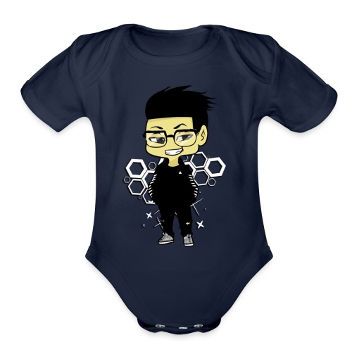 iBeat - Official Design - Organic Short Sleeve Baby Bodysuit