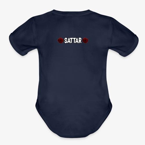 Sattar - Organic Short Sleeve Baby Bodysuit