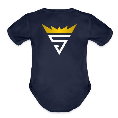 King Stefan - Organic Short Sleeve Baby Bodysuit