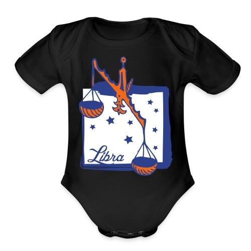 Libra - Organic Short Sleeve Baby Bodysuit
