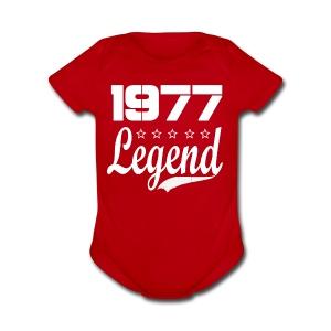 77 Legend - Short Sleeve Baby Bodysuit