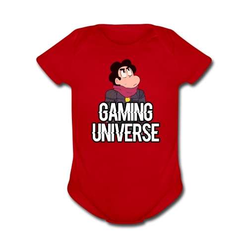 Gaming Universe SU T-Shirt - Organic Short Sleeve Baby Bodysuit