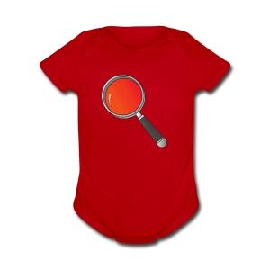 RedishPlot - Short Sleeve Baby Bodysuit