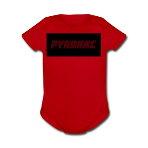 Logo (Rectangle) - Short Sleeve Baby Bodysuit