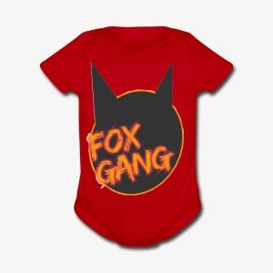 The fox gang official - Short Sleeve Baby Bodysuit