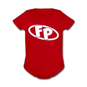 Secondary FRESHPOPCORN Logo - Short Sleeve Baby Bodysuit