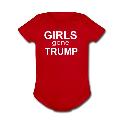 GIRLS gone TRUMP - Organic Short Sleeve Baby Bodysuit