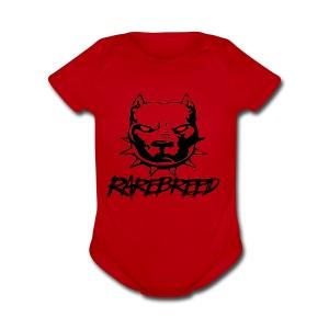 rarebreed pit - Short Sleeve Baby Bodysuit