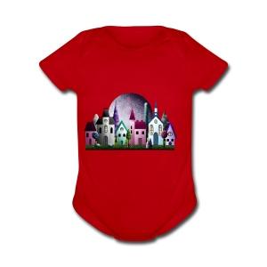 Moondale - Short Sleeve Baby Bodysuit