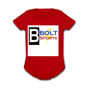 Bolt Sports 2nd Collection - Short Sleeve Baby Bodysuit