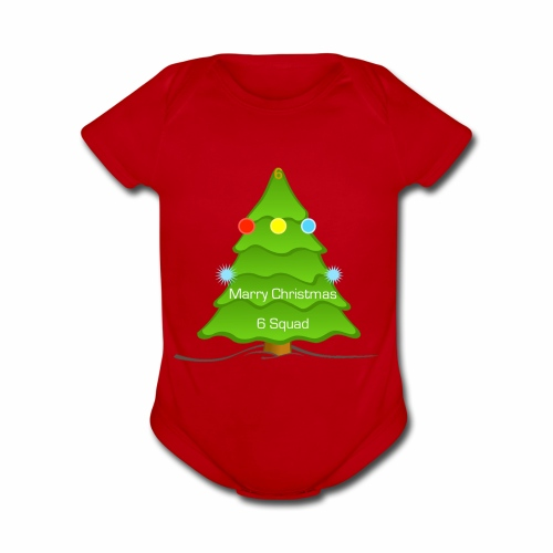 {{LIMITED EDITION}} Christmas! merch - Organic Short Sleeve Baby Bodysuit