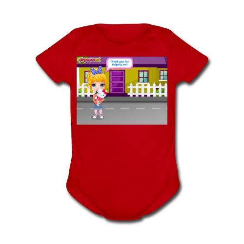 Baby Barbie Throat Doctor T-shirt/Tanktop - Organic Short Sleeve Baby Bodysuit