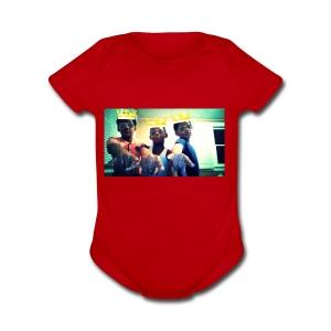 Aviary Photo 131568288063200354 - Short Sleeve Baby Bodysuit