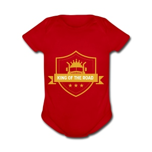 King of the Road - Short Sleeve Baby Bodysuit