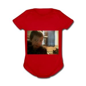 filip - Short Sleeve Baby Bodysuit