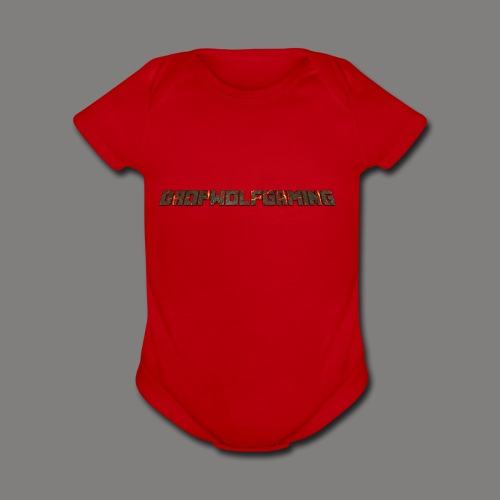 DropWolfGaming - Organic Short Sleeve Baby Bodysuit