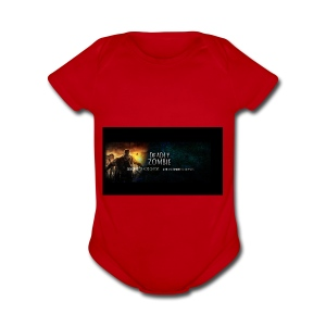 Deadly_Zombies_-1- - Short Sleeve Baby Bodysuit