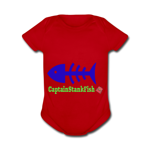 A Shirt for a Stanky Person - Organic Short Sleeve Baby Bodysuit