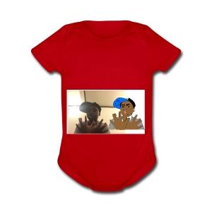 Cheick Zeba - Short Sleeve Baby Bodysuit