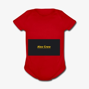 Alex Crew - Short Sleeve Baby Bodysuit