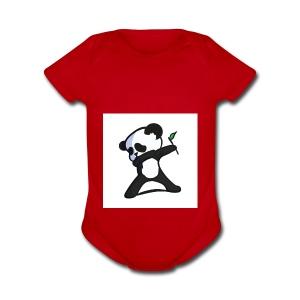 Panda DaB - Short Sleeve Baby Bodysuit
