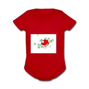 IMG 0145 - Short Sleeve Baby Bodysuit