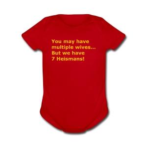 Multiple Wives - Short Sleeve Baby Bodysuit