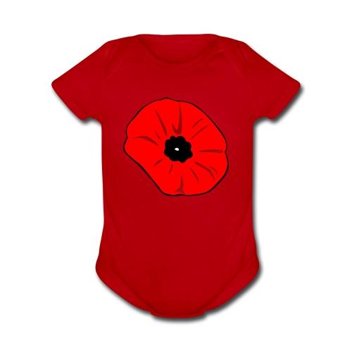 Poppy at Poppy! - Organic Short Sleeve Baby Bodysuit