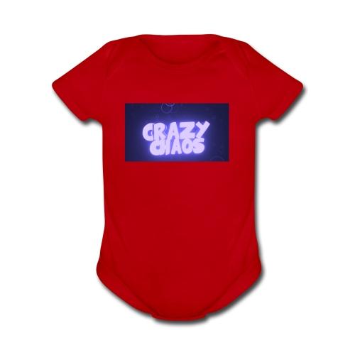 design - Organic Short Sleeve Baby Bodysuit
