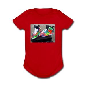 air jordan 6 galaxy customs i really like them - Short Sleeve Baby Bodysuit